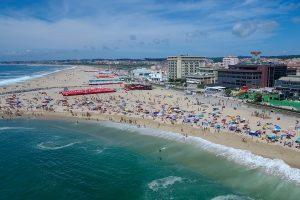 espinho beach near Porto